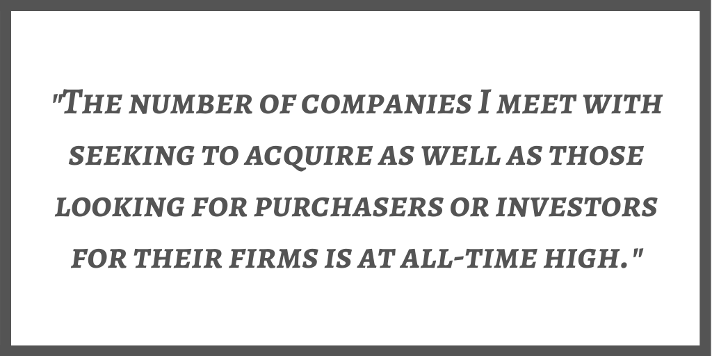 Rick Ellis, MBA - Mergers & Acquisitions